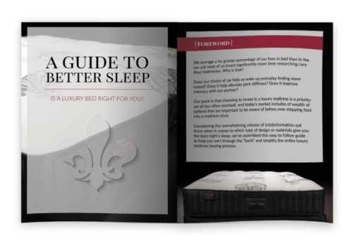 A Guide to Better Sleep: Is a Luxury Bed Right for you>
